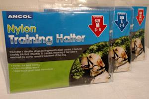 Nylon Training Halter (small)