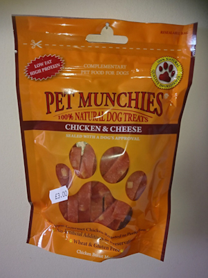 Chicken and Cheese Treats