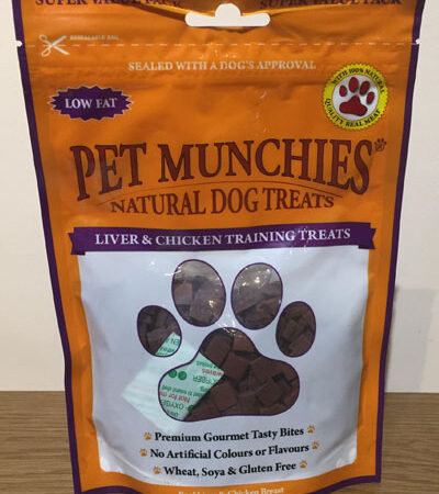 Liver and Chicken Training Treats