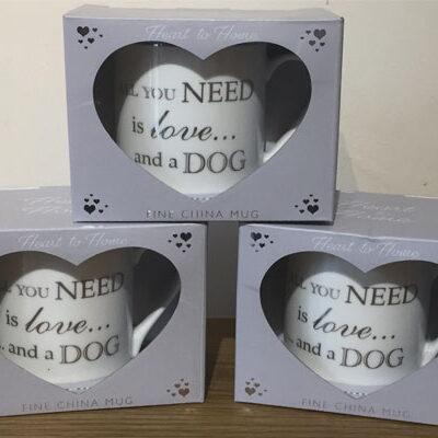 'All you need is love… and a dog' Mug