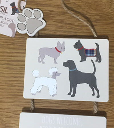 Dog Wall Plaques variety of sayings